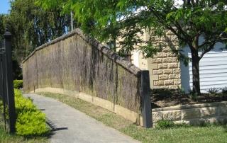 Alteration to Brushwood Fence