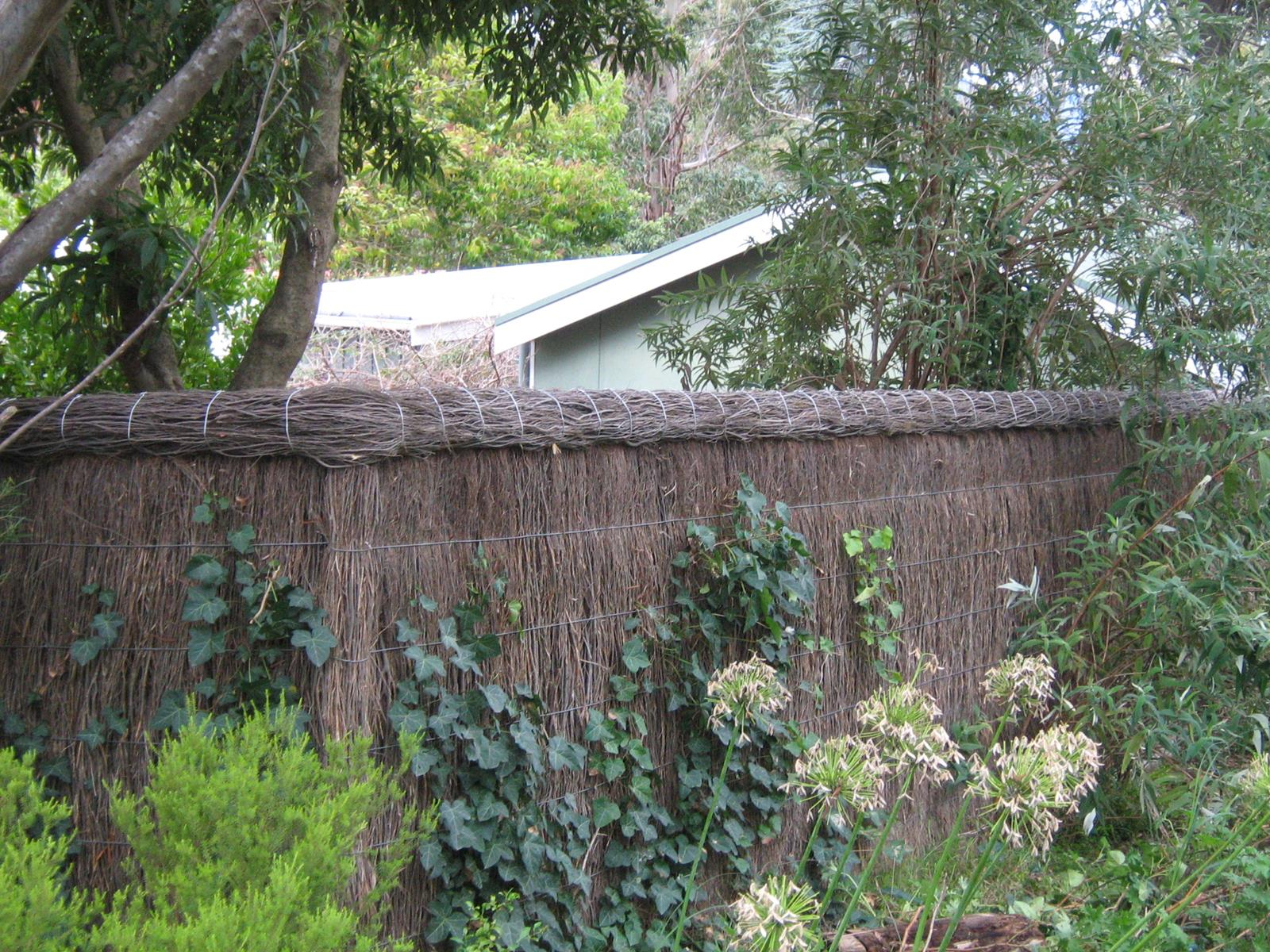 Brushwood Fences Roll Top